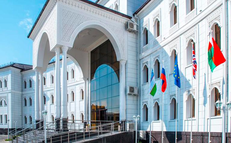 Гостиница Бек Самарканд фасад