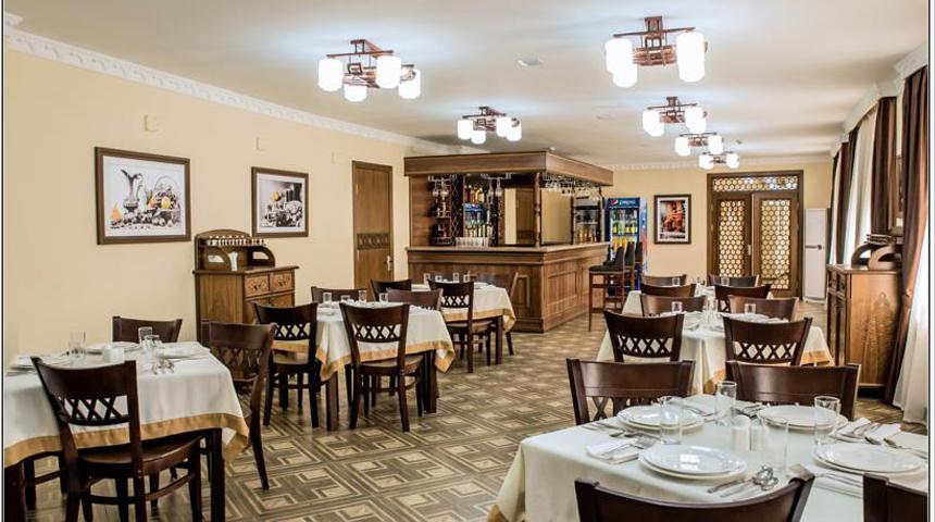 Гостиница Бек Самарканд ресторан 2
