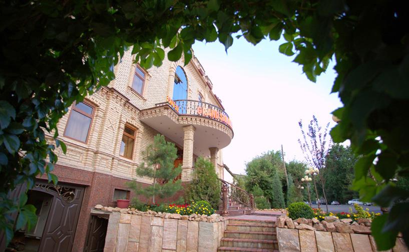 Гостиница Гранд Самарканд Супериор фасад 3
