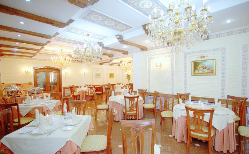 Гостиница Гранд Самарканд Супериор ресторан 1