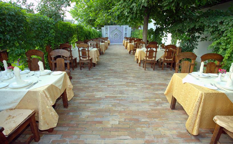 Гостиница Гранд Самарканд Супериор ресторан 2