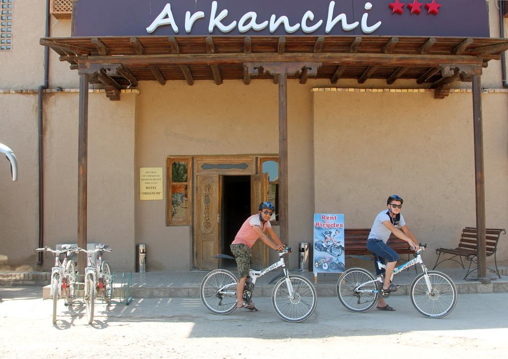 Гостиница Аркончи Хива 6