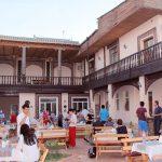 Гостиница Аркончи Хива двор 1