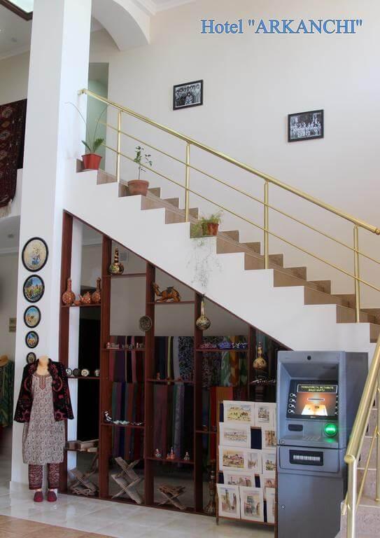 Гостиница Аркончи Хива лестница