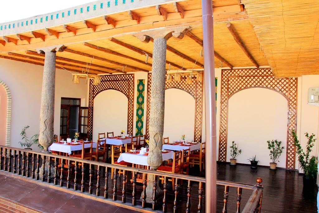 Гостиница Аркончи Хива ресторан 2