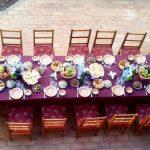Гостиница Аркончи Хива ужин 1