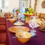 Гостиница Аркончи Хива ужин 2