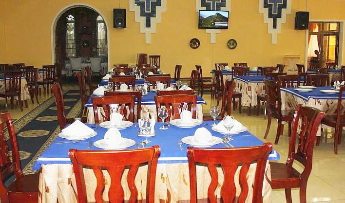 Гостиница Азия Бухара ресторан 1