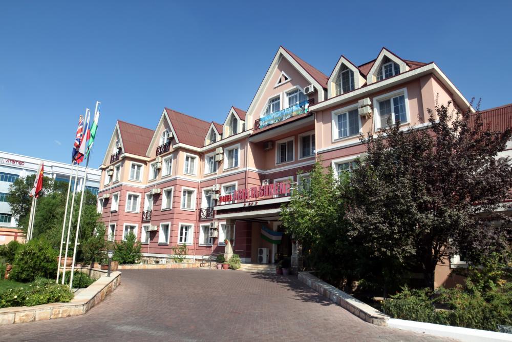 Гостиница Азия Ташкент фасад 2