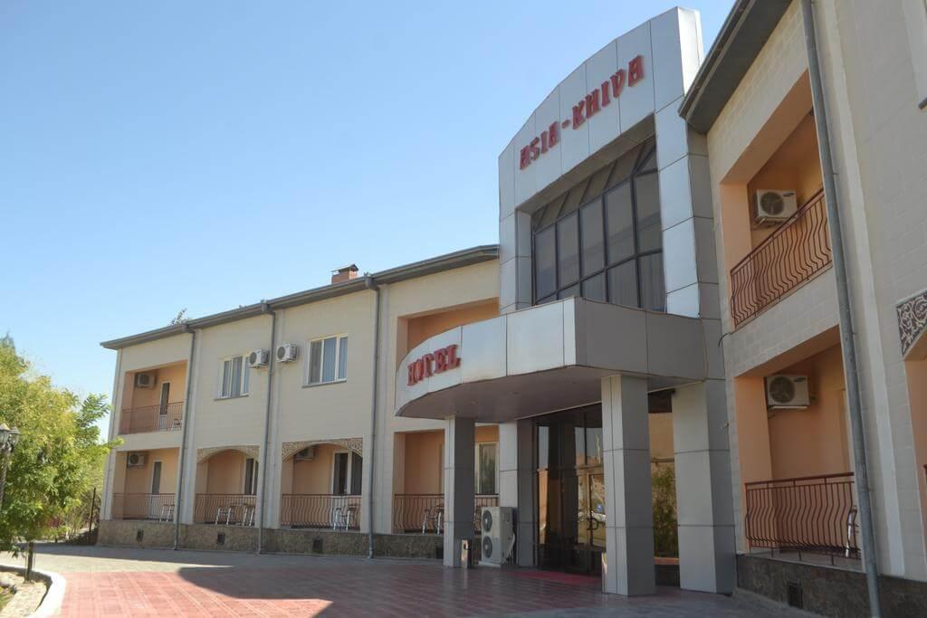 Гостиница Азия Хива фасад 2