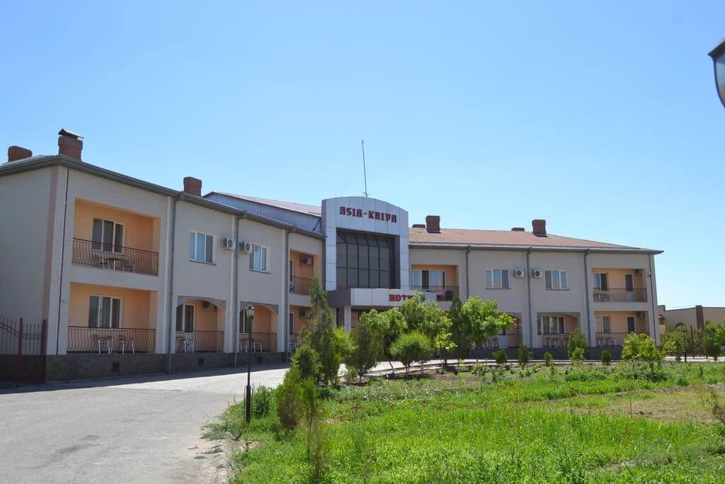 Гостиница Азия Хива фасад 3