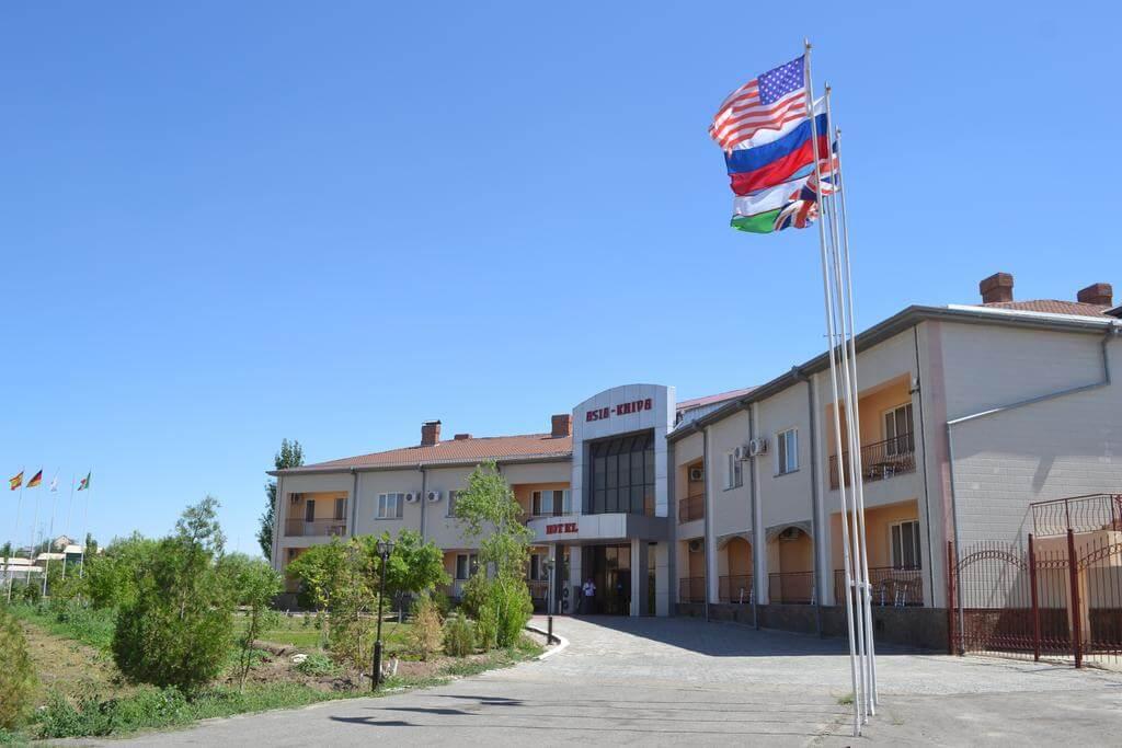 Гостиница Азия Хива фасад 4