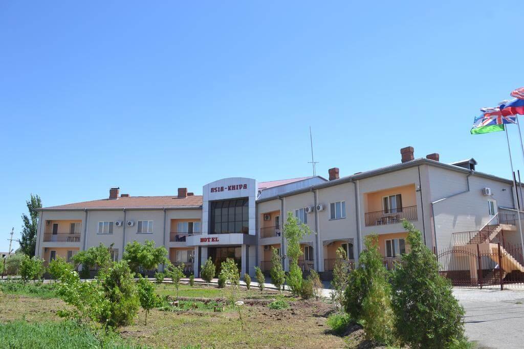 Гостиница Азия Хива фасад 5