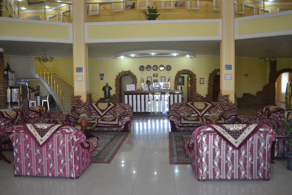 Гостиница Азия Хива ресепшн 1