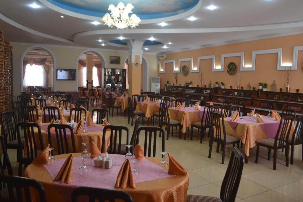 Гостиница Азия Хива ресторан