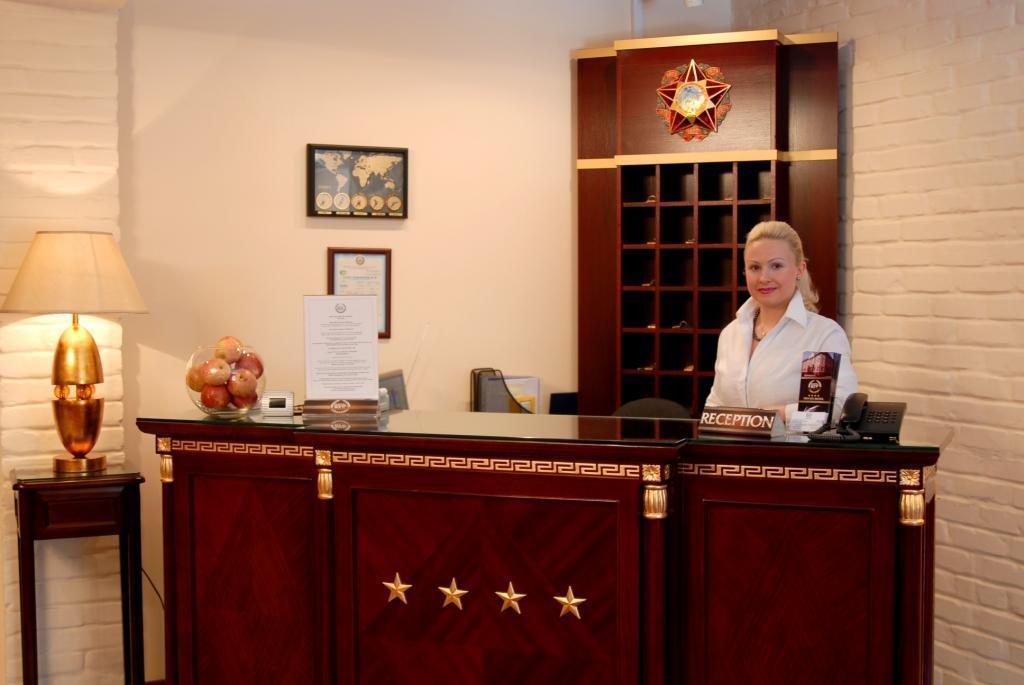 Гостиница Бек Ташкент ресепшн 1