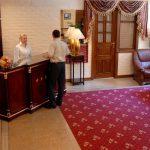 Гостиница Бек Ташкент ресепшн 2