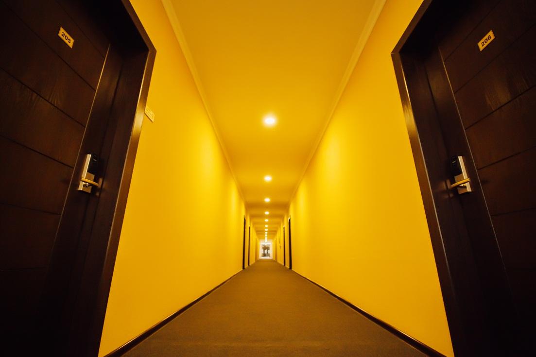 Гостиница Бек Хива коридор