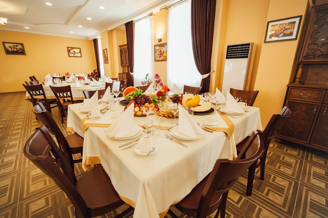 Гостиница Бек Хива ресторан 2