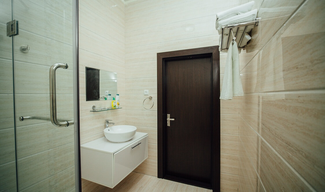 Гостиница Бек Хива ванная 1