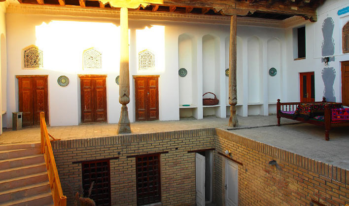 Гостиница Биби Хоним Бухара 1