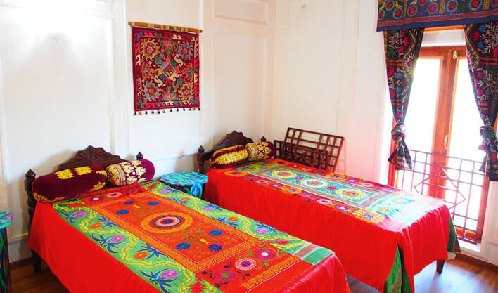 Гостиница Биби Хоним Бухара твин 1