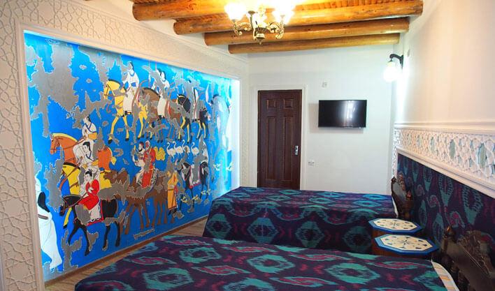 Гостиница Биби Хоним Бухара твин 2