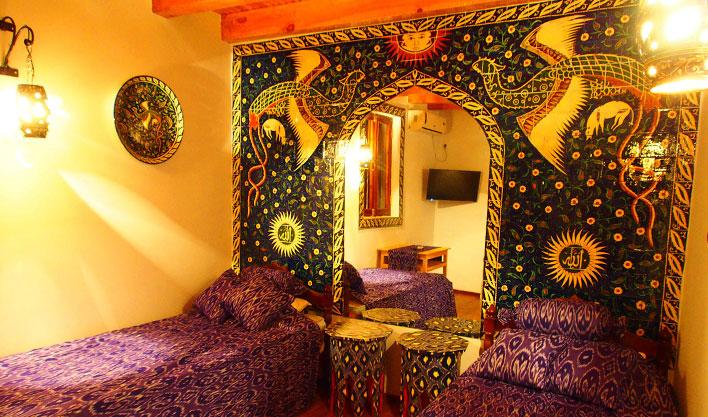 Гостиница Биби Хоним Бухара твин 6