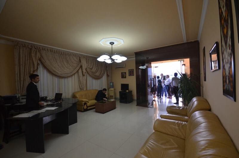 Гостиница Club 777 ресепшн