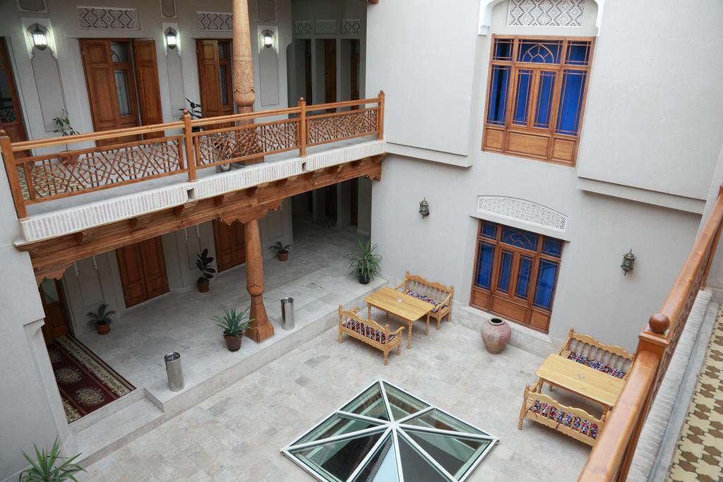 Гостиница Девон Беги Бухара двор
