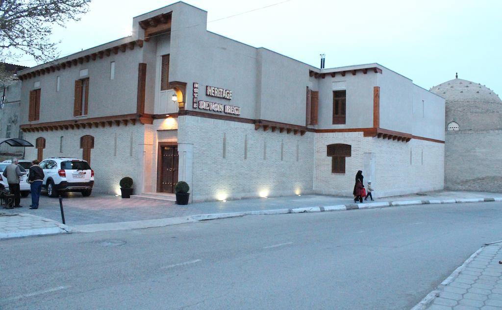 Гостиница Девон Беги Бухара фасад 1