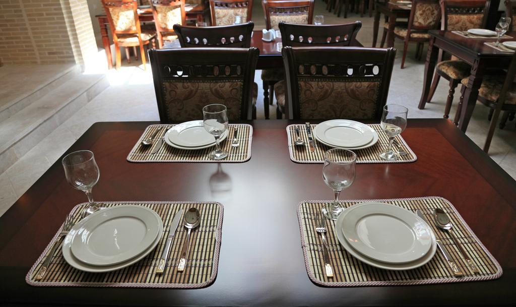 Гостиница Девон Беги Бухара ресторан 3