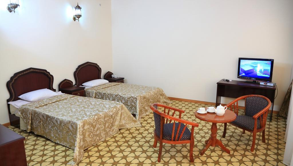Гостиница Девон Беги Бухара твин 4