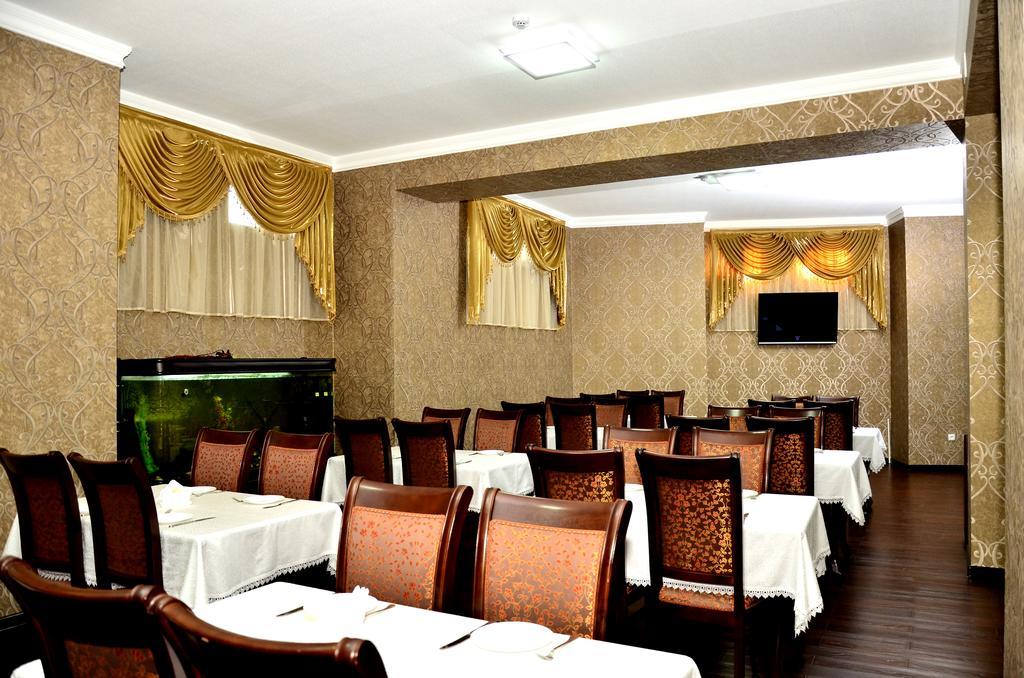 Гостиница Диёра Самарканд ресторан 1