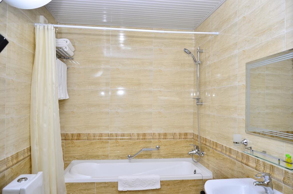 Гостиница Диёра Самарканд ванная 2