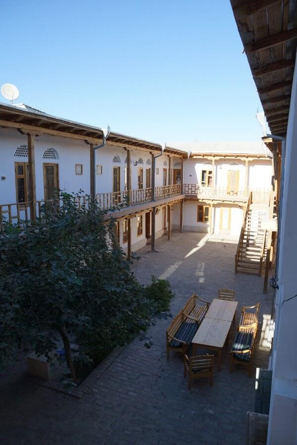 Гостиница Элен Оазис Бухара двор 3