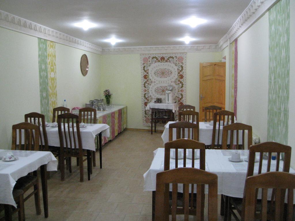 Гостиница Эмир Бухара ресторан 1