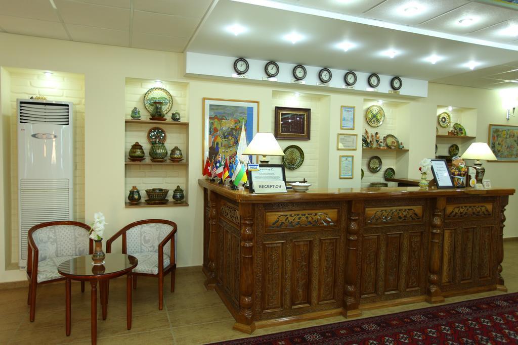 Гостиница Гранд Самарканд ресепшн 2