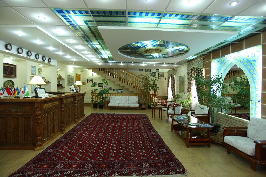 Гостиница Гранд Самарканд ресепшн 3