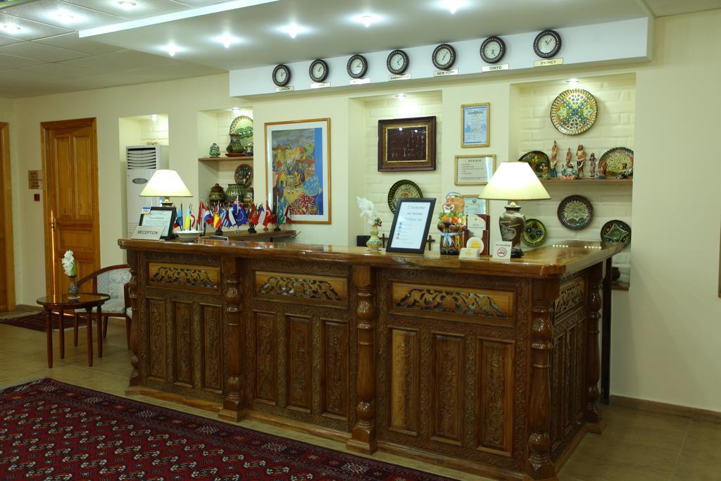 Гостиница Гранд Самарканд ресепшн