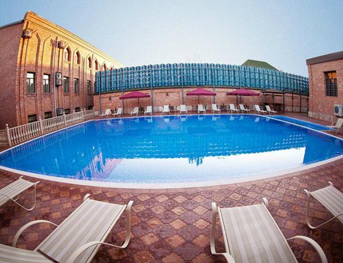 Гостиница Ичан кала Ташкент бассейн 1