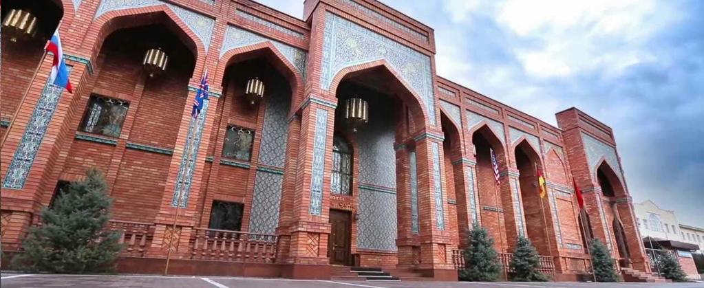 Гостиница Ичан кала Ташкент фасад 1
