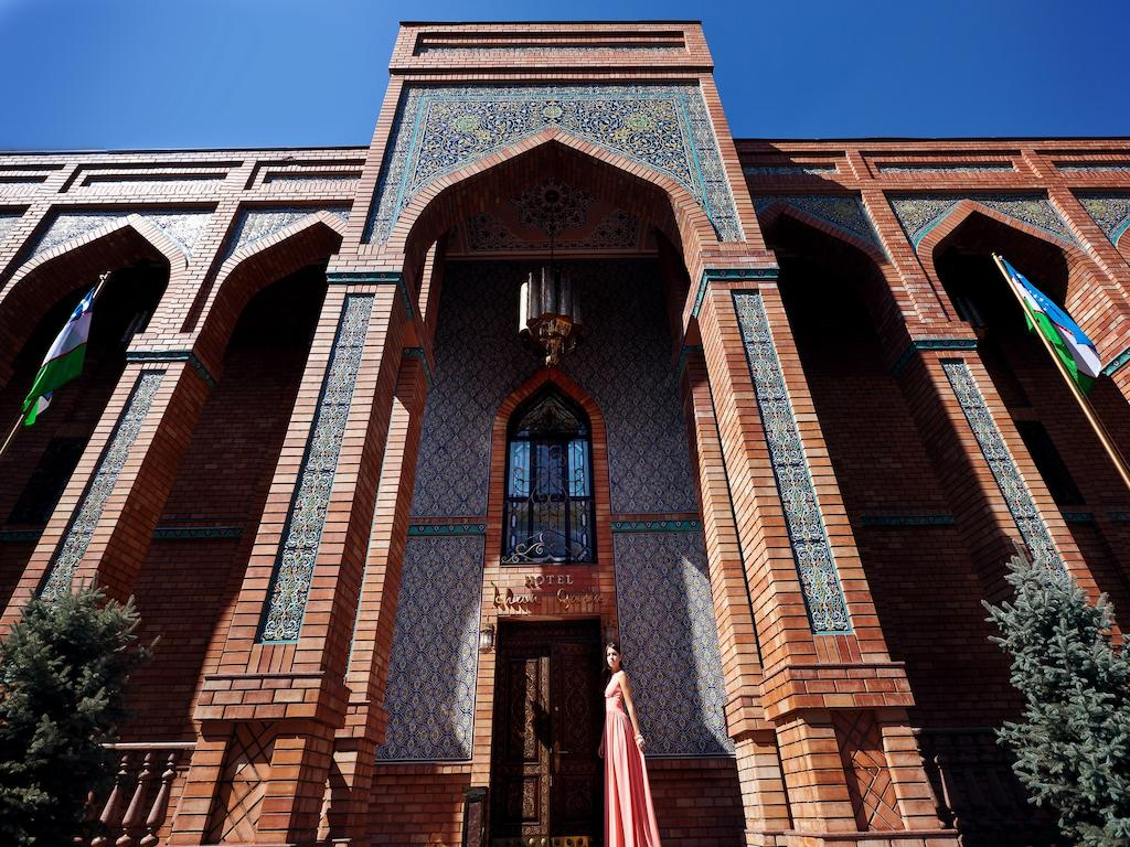 Гостиница Ичан кала Ташкент фасад 2