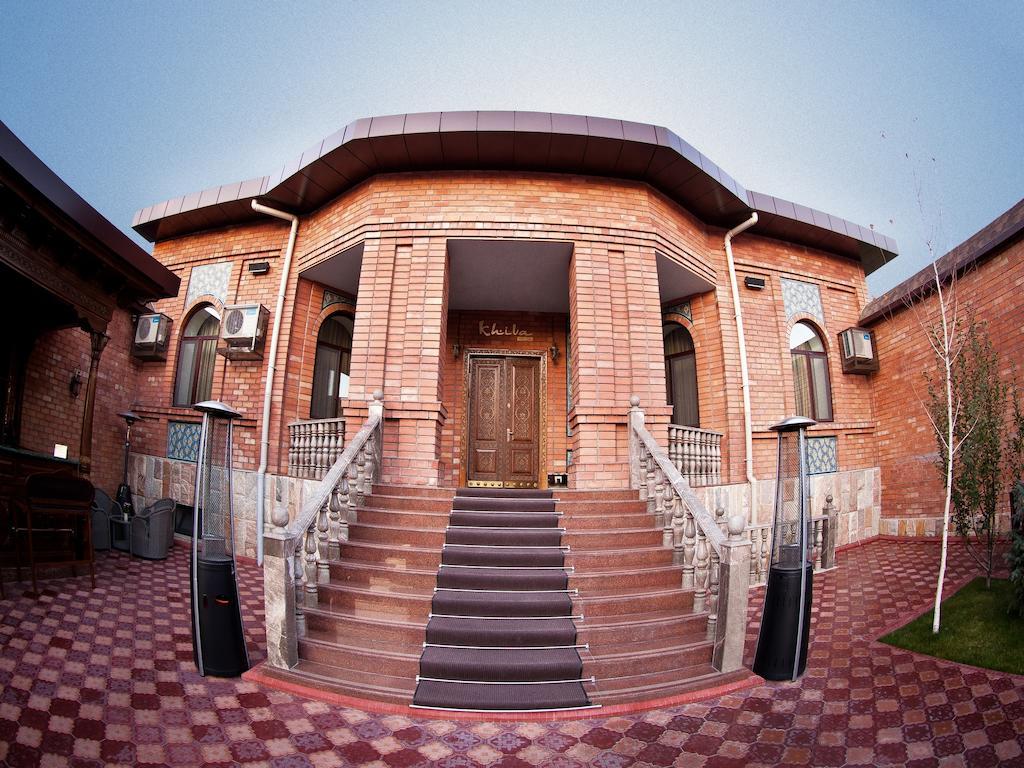 Гостиница Ичан кала Ташкент фасад 3