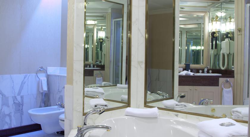 Гостиница Интернатионал Ташкент ванная 1