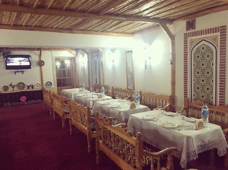 Гостиница Кабир Бухара ресторан 4