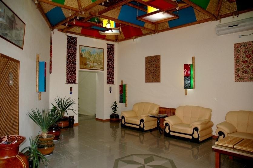 Гостиница Кабир Бухара холл 1
