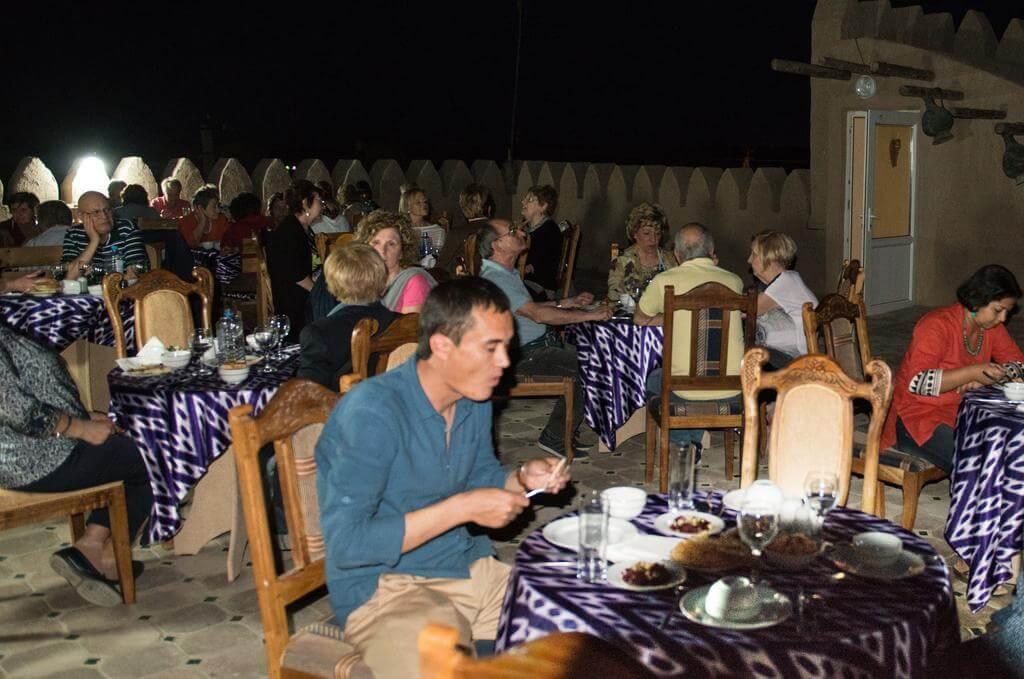 Гостиница Кала Хива ресторан 1
