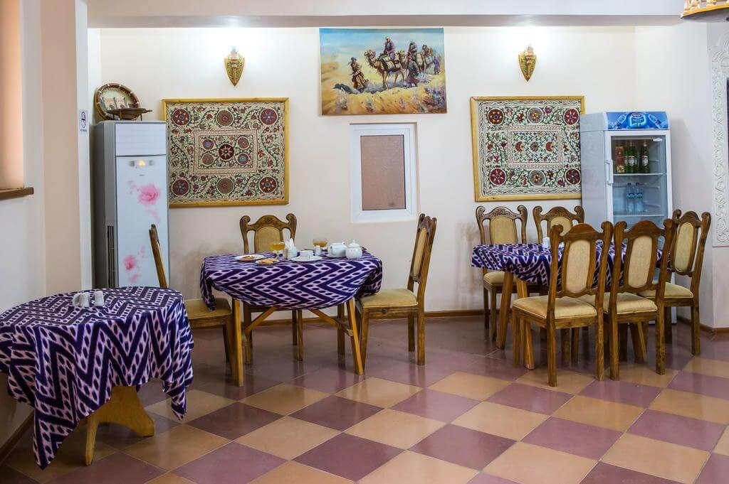 Гостиница Кала Хива ресторан 2