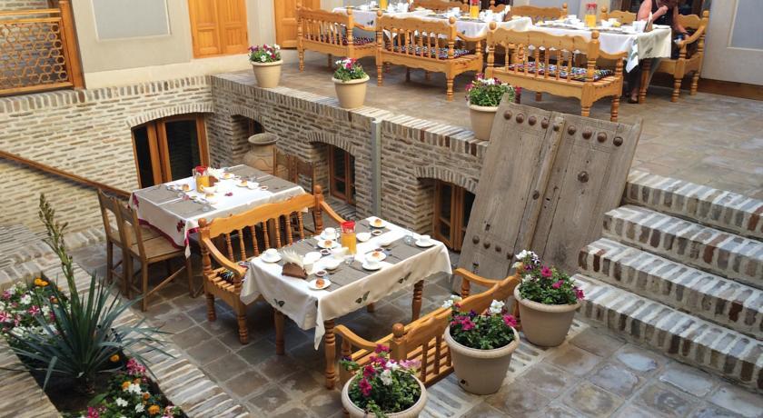 Гостиница Кавсар Бухара завтрак 1